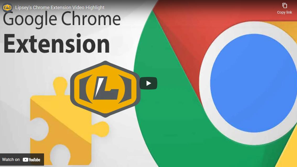 Extension Video Screenshot