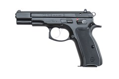 "CZ-USA CZ 75 BD 9mm  Item #: CZ01102 / MFG Model #: 01102 / UPC: 806703011028 75B 9MM BLACK 4.6"" 10+1 FS"