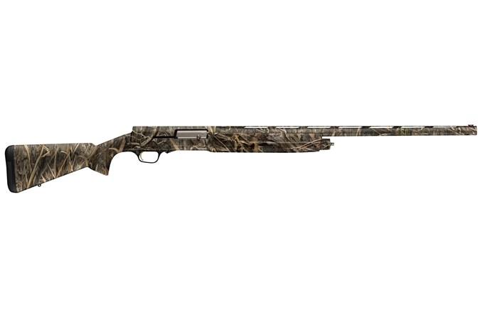 "Browning A5 Camo 12 Gauge Shotgun - Item #: BR011-8992005 / MFG Model #: 0118992005 / UPC: 023614742739 - A5 MOSGH 12/26 3.5"" MOSSY OAK SHADOW GRASS HABITAT"