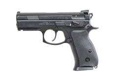 CZ-USA CZ P-01 9mm  Item #: CZ01229 / MFG Model #: 01229 / UPC: 806703012292 P-01 OMEGA 9MM BLK 10+1 FS ACCESSORY RAIL | 2 MAGAZINES