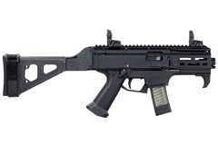 CZ-USA Scorpion Evo 3 S2 Micro Pistol 9mm  Item #: CZ01345 / MFG Model #: 01345 / UPC: 806703013459 SCORP PIST MICRO 9MM 10+1 FOLD FOLDING BRACE