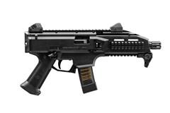 CZ-USA Scorpion Evo 3 S1 Pistol 9mm  Item #: CZ01351 / MFG Model #: 01351 / UPC: 806703013510 SCORPION PISTOL 9MM BLK 10+1 ADJUSTABLE SIGHTS