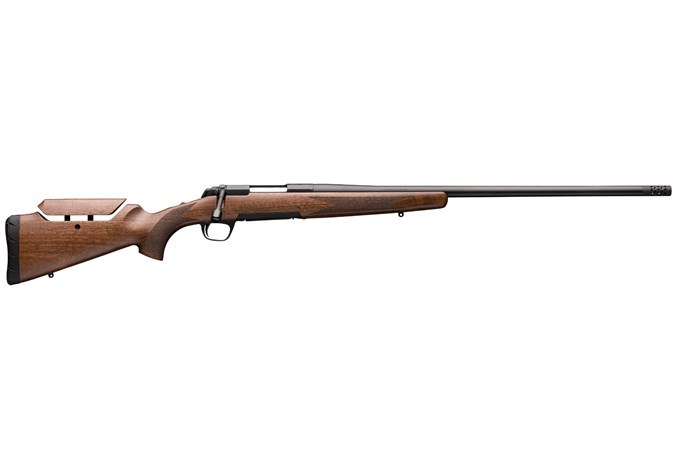 "Browning X-Bolt Long Range Hunter 300 Win Mag Rifle - Item #: BR035-481229 / MFG Model #: 035481229 / UPC: 023614738794 - XBOLT HUNT LR 300WIN BL/WD 26"" MUZZLE BRAKE 