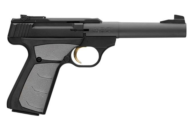 """Browning Buck Mark Camper URX 22 LR Semi-Auto Pistol - Item #: BR051-498490 / MFG Model #: 051498490 / UPC: 023614043386 - BUCKMARK CAMP UFX 22LR BL 5.5"""""""