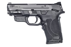 Smith and Wesson M&P9 M2.0 Shield EZ 9mm  Item #: SM12438 / MFG Model #: 12438 / UPC: 022188882827 M&P9 M2.0 SHIELD EZ 9MM MS LSR 12438 | SAFETY | RED LASER