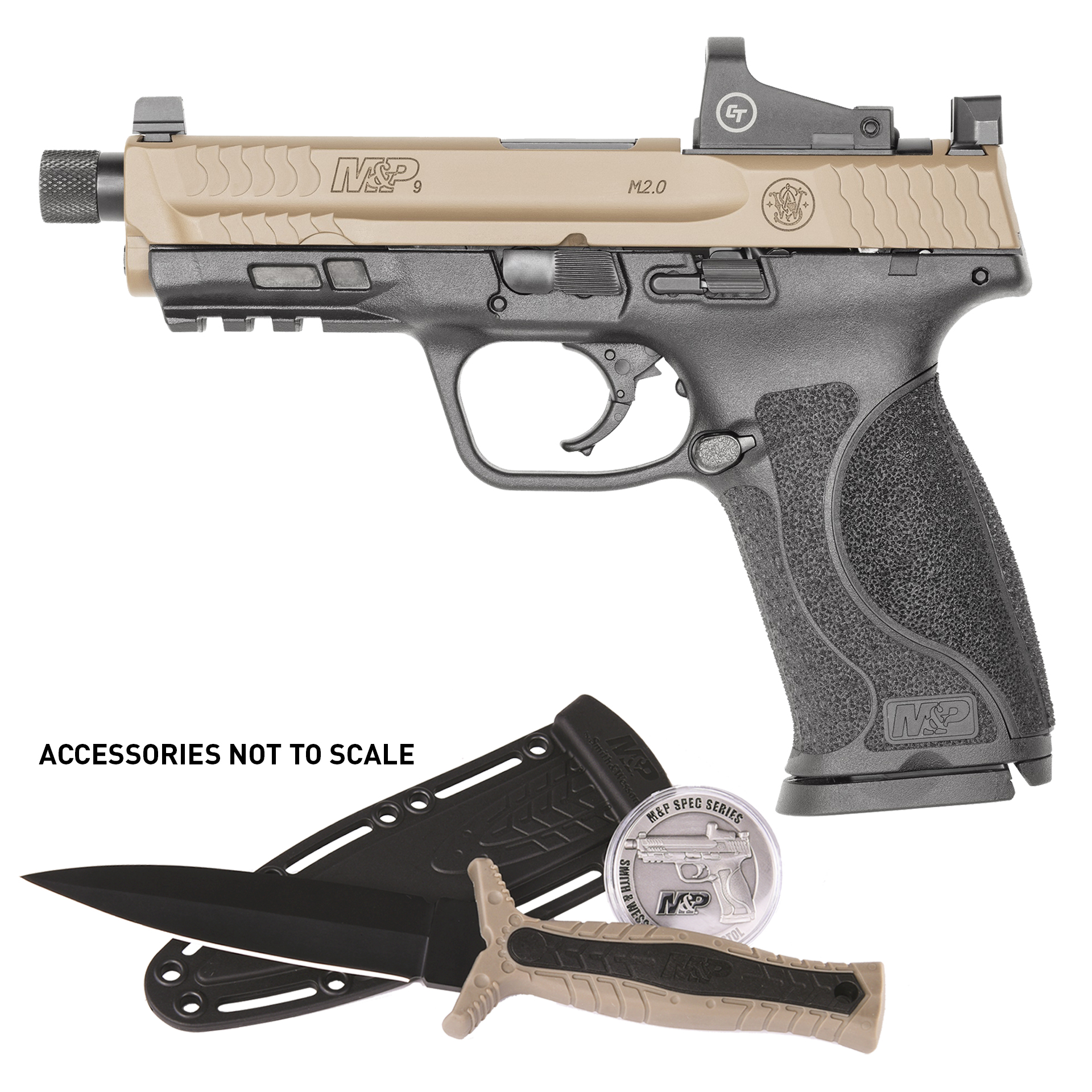 Smith and Wesson M&P9 M2.0 OR SPEC KIT 9MM