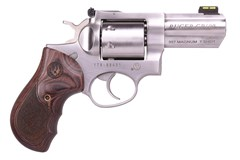 "TALO EXCLUSIVE Ruger GP100 357 Magnum | 38 Special  Item #: RUKGP1317 / MFG Model #: 1782 / UPC: 736676017829 GP100 357MAG 3"" SS 7RD UNFLUTE 1782 