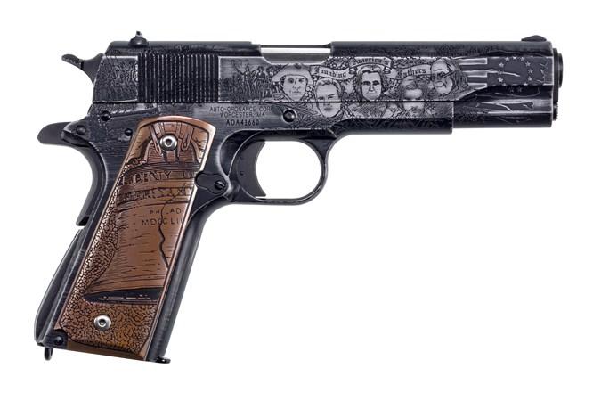 Auto-Ordnance - Thompson 1911 Revolution Edition 45 ACP Semi-Auto Pistol