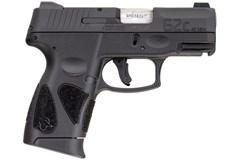 "Taurus G2C 40 S&W  Item #: TAG2C40BNS / MFG Model #: 1-G2C4031NS-10 / UPC: 725327932437 G2C 40S&W BLK/BLK 3.2"" NS 10+1 1-G2C4031NS-10"