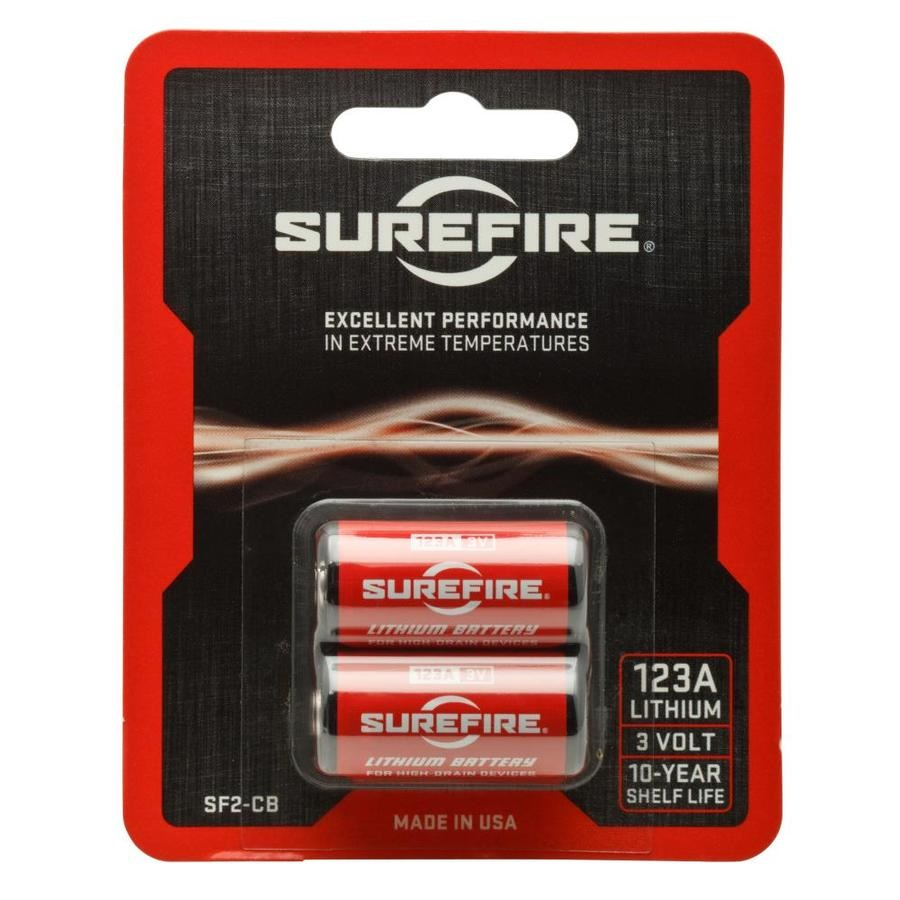 SureFire LITHIUM BATTERY 2 PACK CARDS
