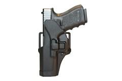 BLACKHAWK! Serpa CQC Holster   Item #: BL410500BK-L / MFG Model #: 410500BK-L / UPC: 648018013812 SERPA CQC GLOCK 17/22/31 LH LEFT HAND MODEL
