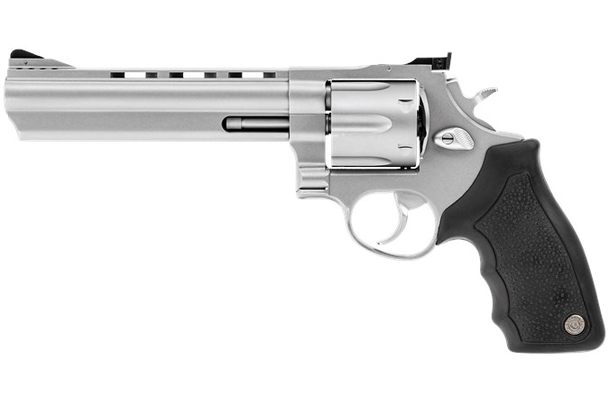 "Taurus Model 44 44 Magnum | 44 Special Revolver - Item #: TA44SS6 / MFG Model #: 2-440069 / UPC: 725327204046 - 44MAG SS 6.5"" 6SH AS PORTED 2-440069"