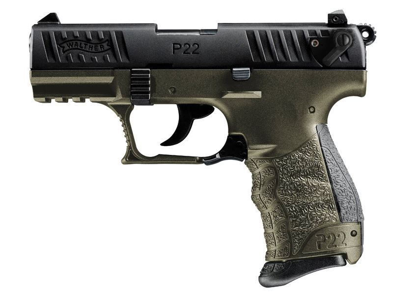 Walther Arms P22Q MILITARY 22 LR