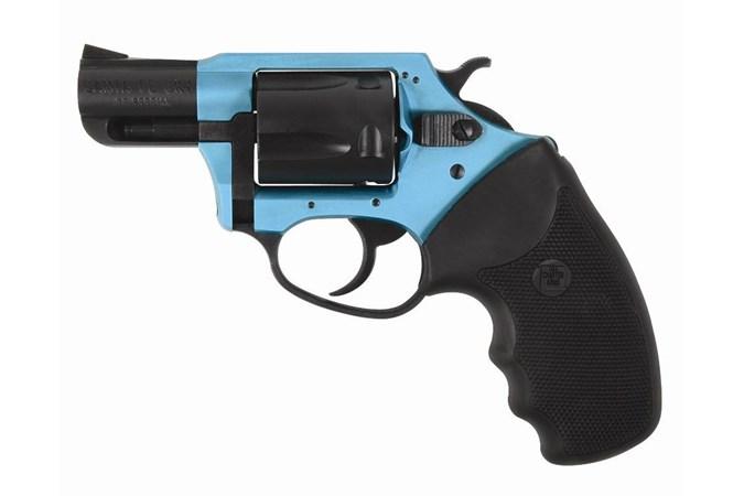 Charter Arms Santa Fe Undercover Lite 38 Special Revolver - Item #: CH53864 / MFG Model #: 53864 / UPC: 678958538649 - SANTA FE SKY 38SPC TURQ/BLK