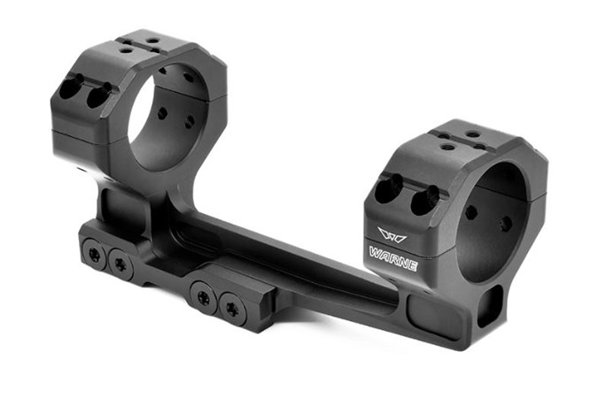 Warne Skyline 1 Piece Precision  Accessory-Rings/Mounts/Bases - Item #: WN7818M / MFG Model #: 7818M / UPC: 656813106929 - SL 1PC CANT MOUNT 30MM MSR 1PC PRECISION CANTILEVER MOUNT