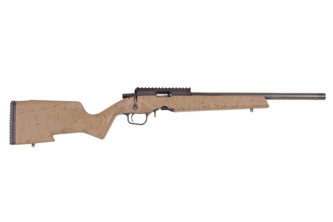 """Christensen Arms Ranger 22 LR Rifle - Item #: CN8011200100 / MFG Model #: 801-12001-00 / UPC: 696528087779 - RANGER 22LR TAN/BLK 18"""" 801-12001-00"""