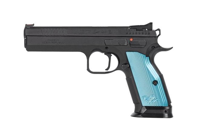 """CZ-USA CZ 75 TS2 9mm Semi-Auto Pistol - Item #: CZ91220 / MFG Model #: 91220 / UPC: 806703912202 - 75 TS2 9MM 20+1 5.3"""""""