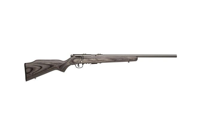 Savage Arms 93R17 BVSS 17 HMR Rifle - Item #: SV93R17BVSS-AT / MFG Model #: 96705 / UPC: 062654967054 - 93 BOLT 17HMR SS/LAM HVBBL 5+1 96705