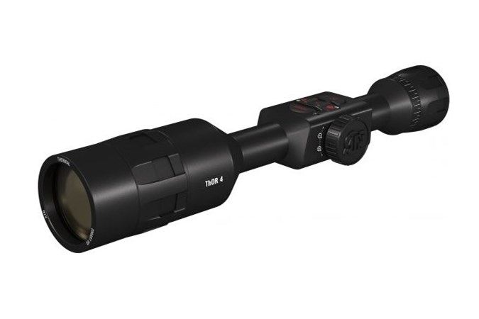 ATN THOR 4K Thermal  Accessory-Scopes - Item #: AITIWST4387A / MFG Model #: TIWST4387A / UPC: 658175115106 - THOR 4K THERMAL 7-28X SCOPE HD VIDEO RECORDING