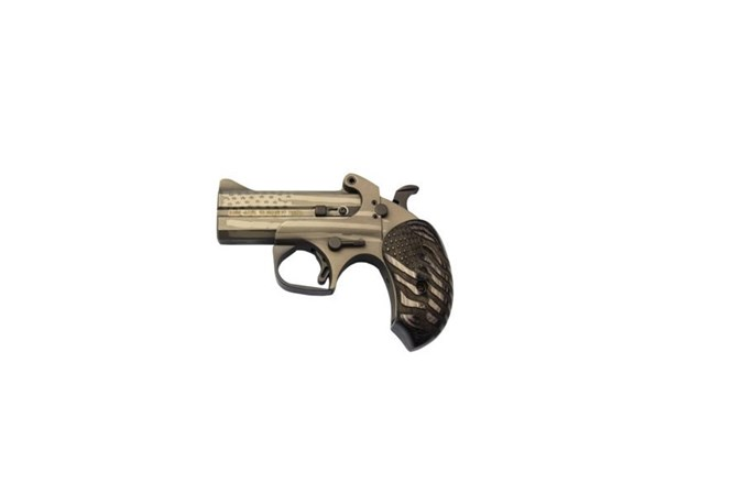 "Bond Arms Old Glory 410 Bore   45 Colt Specialty Handgun - Item #: BAOGP45/410 / MFG Model #: OLDGLORY / UPC: 855959002342 - OLD GLORY PKG 1 45LC/410 3.5"" ADDITIONAL BBL POCKET HOLSTER"
