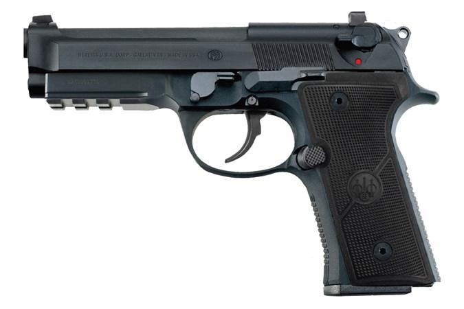 Beretta 92X Centurion 9mm Semi-Auto Pistol - Item #: BEJ92QR920G / MFG Model #: J92QR920G / UPC: 082442907512 - 92X CENTURION 9MM 10+1 DECOCKR DECOCKER | COMPACT SLIDE