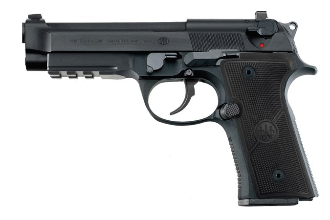 Beretta 92X Full-Size 9mm Semi-Auto Pistol - Item #: BEJ92FR915G / MFG Model #: J92FR915G / UPC: 082442908144 - 92X FULLSIZE 9MM 15+1 DECOCKER DECOCKER | FIXED SIGHTS