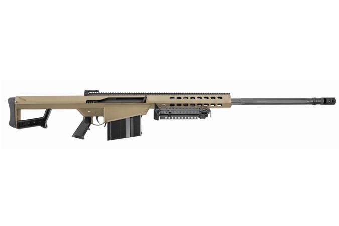 "Barrett Firearms Model 82A1 416 Barrett Rifle - Item #: BF14029 / MFG Model #: 14029 / UPC: 816715012678 - 82A1 416BARRETT FDE 29"" 10+1 FLUTED BARREL"