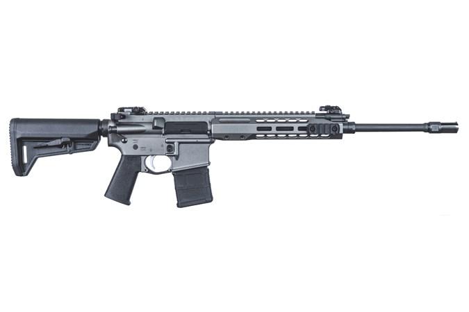 "Barrett Firearms REC7 Carbine 223 Rem | 5.56 NATO Rifle - Item #: BF16981 / MFG Model #: 16981 / UPC: 816715019103 - REC7 CARB 5.56 TUNG 16"" 30+1 TUNGSTEN GREY"