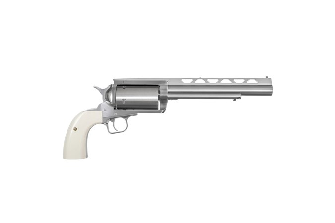 "Magnum Research BFR Revolver 410 Bore | 45 Colt Revolver - Item #: MRBFR45LC/410B / MFG Model #: BFR45LC-410B / UPC: 761226088257 - BFR REVLR 45LC/410 BISLEY 7.5"""