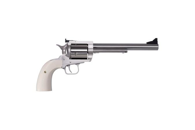 "Magnum Research BFR Revolver 475 Linebaugh | 480 Ruger Revolver - Item #: MRBFR480/4757B / MFG Model #: BFR480-4757B / UPC: 761226088288 - BFR REV 480R/475LB BISLEY 7.5"""