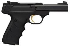 "Browning Buck Mark Contour Stainless 22 LR  Item #: BR051-408490 / MFG Model #: 051408490 / UPC: 023614250968 BUCKMARK CNTR MICRO SS 4"" CA URX AMBI GRIPS | ADJ SIGHTS"