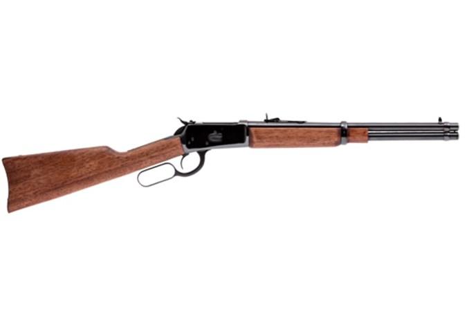"Rossi Model 92 Carbine 44 Magnum | 44 Special Rifle - Item #: BT920442013 / MFG Model #: 920442013 / UPC: 662205988721 - M92 CARB 44MAG BL/WD 20"" 10+1"