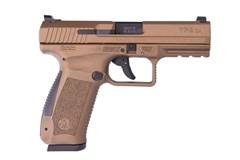 CANIK TP9DA Mod. 2 9mm  Item #: CAHG4873B-N / MFG Model #: HG4873B-N / UPC: 787450525092 CANIK TP9DA 9MM BRZ 18+1 DA/SA FULL ACCESSORY PACK
