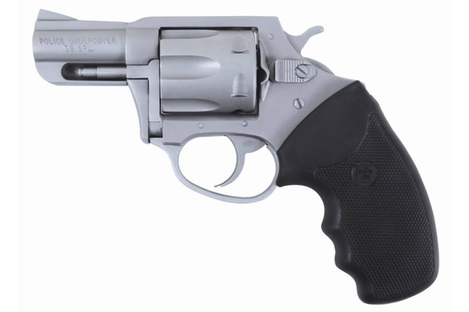 """Charter Arms Police Undercover 38 Special Revolver - Item #: CH73840 / MFG Model #: 73840 / UPC: 678958738407 - CHARTER POL UNDRCVR 38SP SS 2"""" RUBBER GRIPS / 6-SHOT"""
