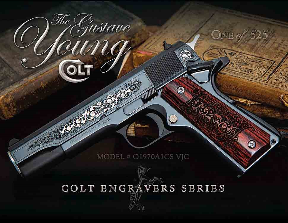Colt SERIES 70 GUSTAVE YOUNG 45 ACP
