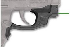 Crimson Trace Laser Guard M&P Bodyguard .380   Item #: CTLG-454G / MFG Model #: LG-454G / UPC: 610242005864 LASERGUARD BODYGUARD 380 GREEN FRONT ACTIVATION