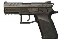"CZ-USA CZ P07 9mm  Item #: CZ01086 / MFG Model #: 01086 / UPC: 806703010861 P-07 9MM BLACK 10+1 3.75"" INTERCHANGEABLE BACK STRAPS"