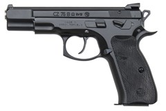 "CZ-USA CZ 75 B 9mm  Item #: CZ01136 / MFG Model #: 01136 / UPC: 806703011363 75B OMEGA 9MM BLK 4.6"" 10+1 FS OMEGA TRIGGER SYSTEM"