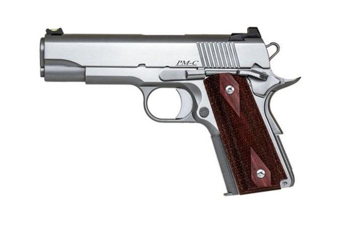 CZ-USA Dan Wesson Pointman Carry 45 ACP Semi-Auto Pistol - Item #: CZ01843 / MFG Model #: 01843 / UPC: 806703018430 - DW POINTMAN CARRY 45ACP SS/WD# FIBER OPTIC FRONT SIGHT