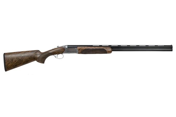 "CZ-USA CZ Supreme Field 20 Gauge Shotgun - Item #: CZ06465 / MFG Model #: 06465 / UPC: 806703064659 - SUPREME FIELD O/U 20/28 3"" BL/WD|POLISHED NICKEL RECEIVER"