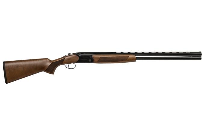 "CZ-USA Drake 20 Gauge Shotgun - Item #: CZ06487 / MFG Model #: 06487 / UPC: 806703064871 - DRAKE O/U LH 20/28 3"" BL/WD LEFT HAND MODEL | 5 CHOKES"