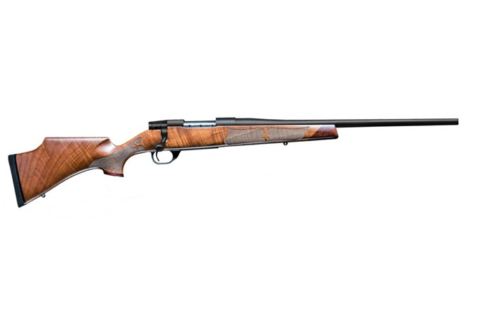"Weatherby Vanguard Camilla 6.5 Creedmoor Rifle - Item #: WBVWR65CMR0O / MFG Model #: VWR65CMR0O / UPC: 747115431557 - VANGUARD CAMILLA 6.5CR BL/WD 20"" BBL