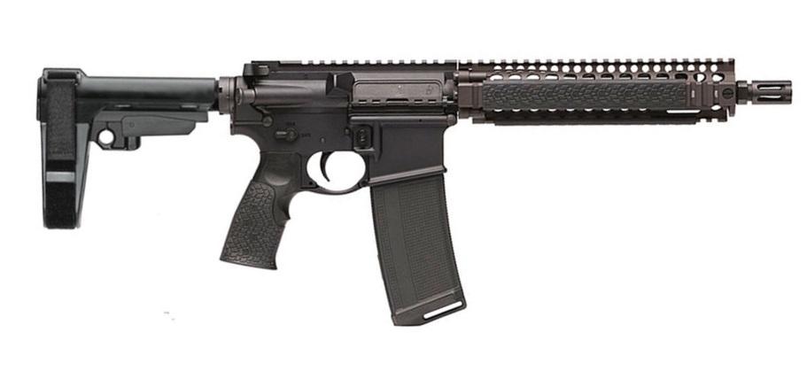 Daniel Defense DDM4 MK18 PISTOL (FDE) 223 REM | 5.56 NATO
