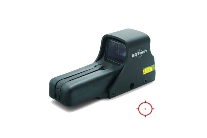 EO Tech Model 552  Accessory-Lasers and Sights - Item #: EO552A65/1 / MFG Model #: 552.A65 / UPC: 672294526513 - EOTECH 550 MODEL 552 AA-BATTRY NITE VISION COMPATIBLE HWS