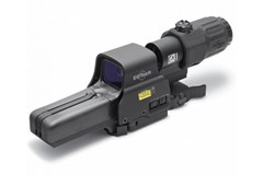 EO Tech 518-2 HWS w/3x Magnifier   Item #: EOHHSIII / MFG Model #: HHSIII / UPC: 672294600565 HHS III 518-2 #2RET 3X MAG MNT SHIFT-TO-SIDE MOUNT