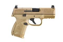 "FN FN 509 Compact MRD 9mm  Item #: FN66-100574 / MFG Model #: 66-100574 / UPC: 845737010911 509C MRD 9MM FDE 3.7"" 15+1 FS STRIKER FIRED/NO MANUAL SAFETY"