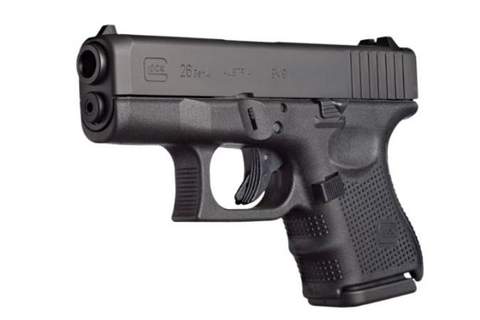 GLOCK G-26 G4 9mm Semi-Auto Pistol - Item #: GLPR26501 / MFG Model #: PR26501 / UPC: 764503992650 - G26 G4 9MM 10+1 REBUILT      #