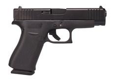 "GLOCK G48 9mm  Item #: GLPA4850201 / MFG Model #: PA4850201 / UPC: 764503032653 G48 9MM BLACK 4"" 10+1 FS"