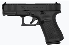 "GLOCK G19 G5 9mm Item #: GLPA195S203 / MFG Model #: PA195S203 / UPC: 764503037252 G19 G5 9MM 15+1 4.0"" FS 3-15RD MAGS 