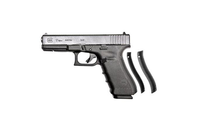GLOCK G17 G4 9mm Semi-Auto Pistol - Item #: GLUR17501 / MFG Model #: UR17501 / UPC: 764503040795 - G17 G4 9MM FS 17+1 REBUILT   # REBUILT